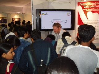 Demoing in India